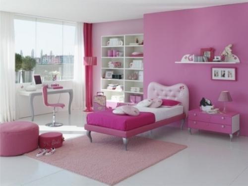 Интерьер детской комнаты для девочки. Фото 8