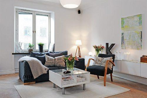 Интерьер квартиры-студии. Фото 11