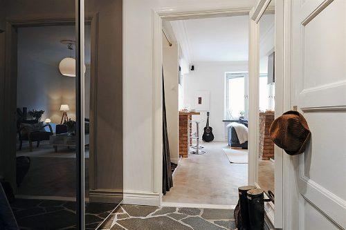 Интерьер квартиры-студии. Фото 12