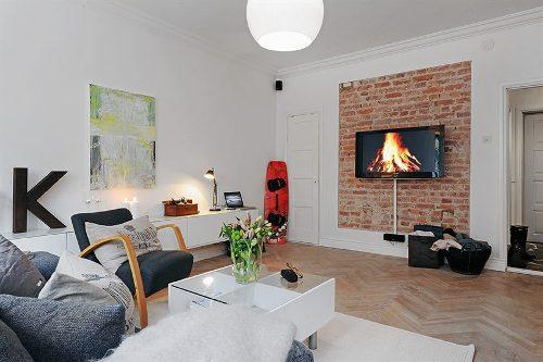 Интерьер квартиры-студии. Фото 9