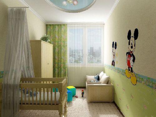 Интерьер маленькой детской комнаты. Фото 11