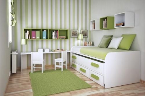 Интерьер маленькой детской комнаты. Фото 3