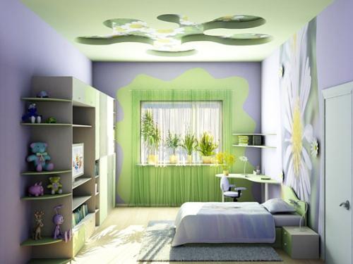 Интерьер маленькой детской комнаты. Фото 5