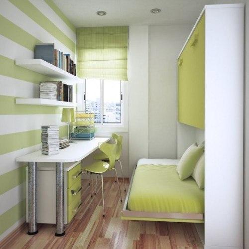 Интерьер маленькой детской комнаты. Фото 8