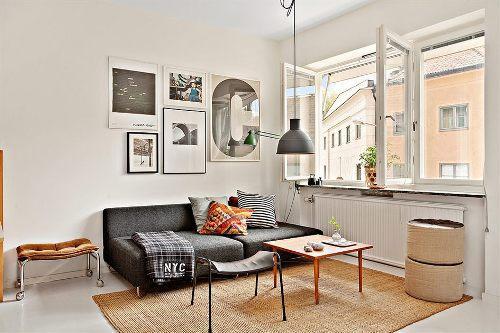 Интерьер маленькой квартиры. Фото