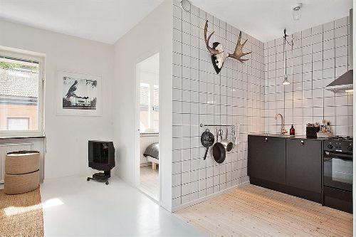 Интерьер маленькой квартиры. Фото 6