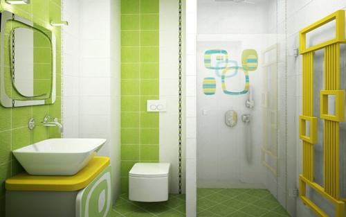 Кафель в интерьере ванной комнаты
