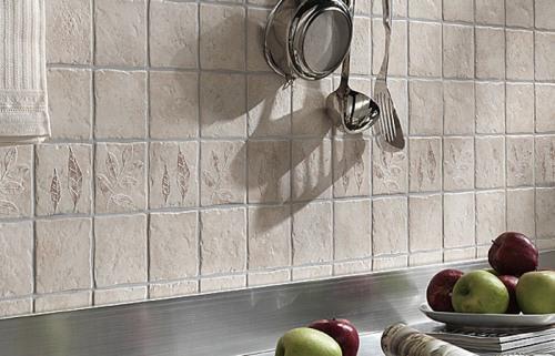 Кафельная плитка для кухни и ее применение