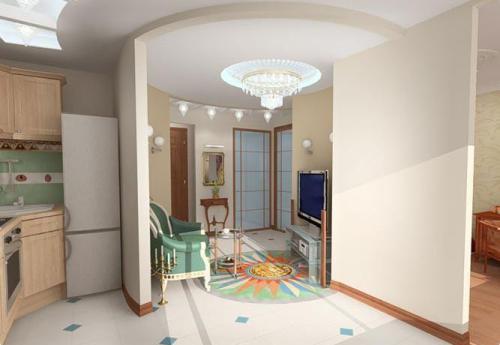 Как перепланировать однокомнатную квартиру? Фото 4