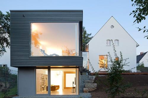 Стильный красивый дом