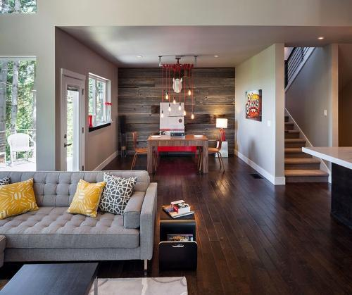 Красивый интерьер в красивом доме
