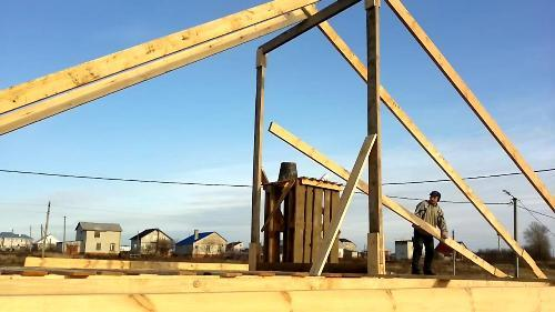 Как построить крышу своими руками?