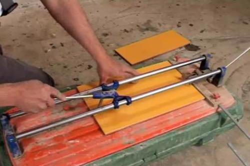 Механические инструменты для резки плитки