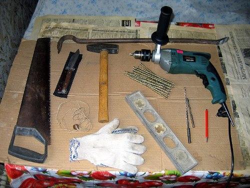 Инструмент для установки пластикового окна
