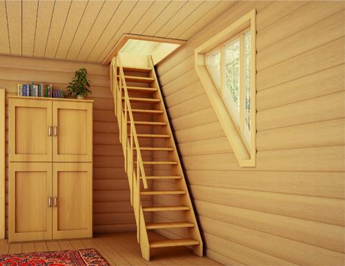 Как сделать деревянную лестницу?