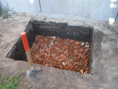 Котлован под фундамент