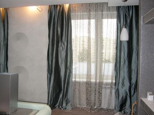 Как стирать шторы из тюля, органзы и шелка?