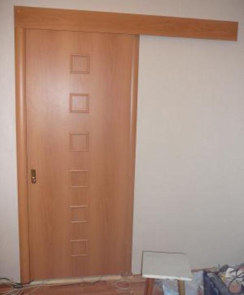 Как установить межкомнатную дверь купе?