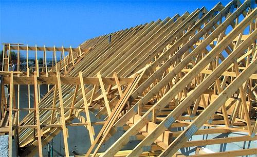 Конструкция крыши дома