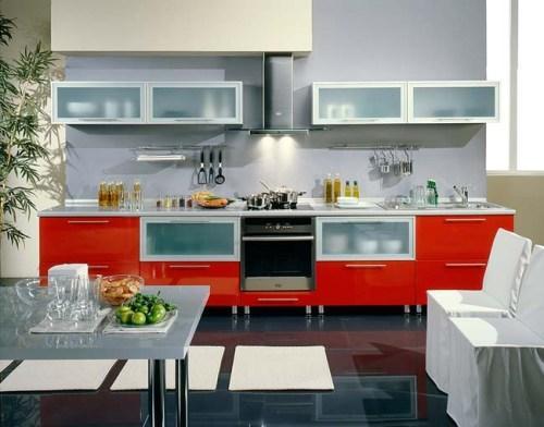 Кухни в стиле хай-тек. Фото