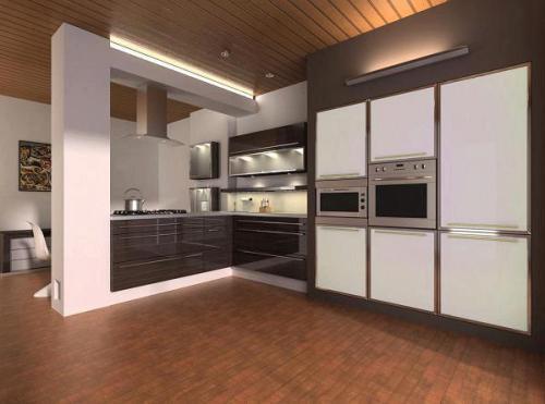 Кухни в стиле хай-тек. Фото 3