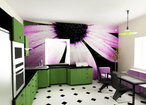 Кухни в стиле хай-тек. Фото 4