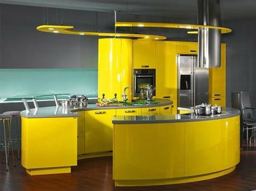 Кухни в стиле хай-тек. Фото 5