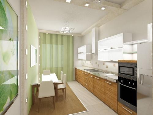 Кухни в стиле хай-тек. Фото 6