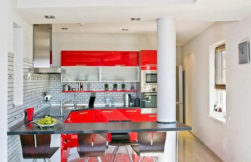 Кухни в стиле хай-тек. Фото 7