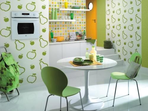 Материалы для отделки стен кухни