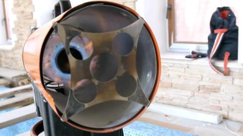 Тепловая пушка для натяжного потолка