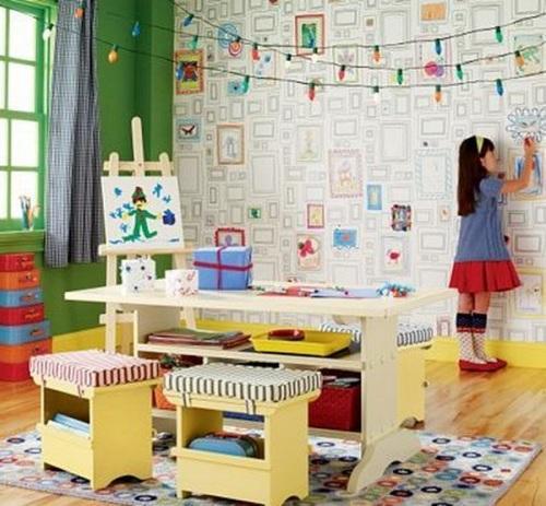 Какие выбрать обои для детской комнаты?