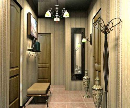Как выбрать обои для маленького коридора?