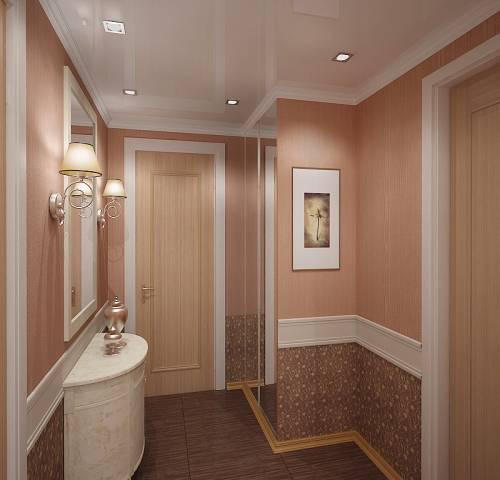 Обои для маленького коридора. Фото 9