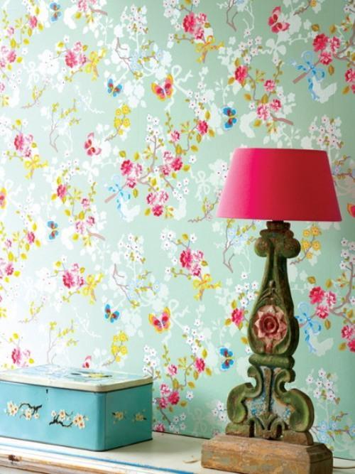 Обои на стену с цветами. Фото 9