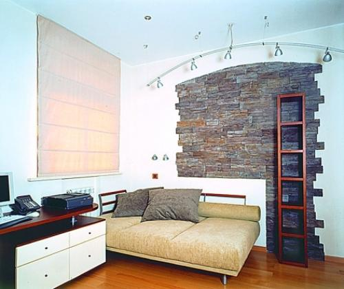 Отделка квартир декоративным камнем. Фото 4
