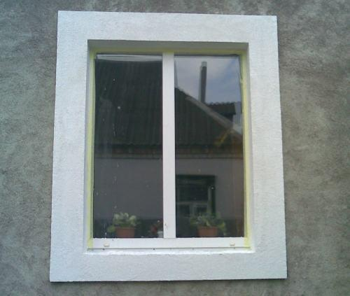 Декоративная отделка окна своими руками