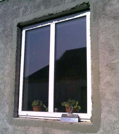 Подготовительные работы перед отделкой окна