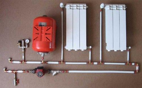 работы системы отопления