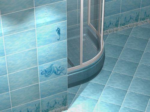 плитка для ванной для пола фото