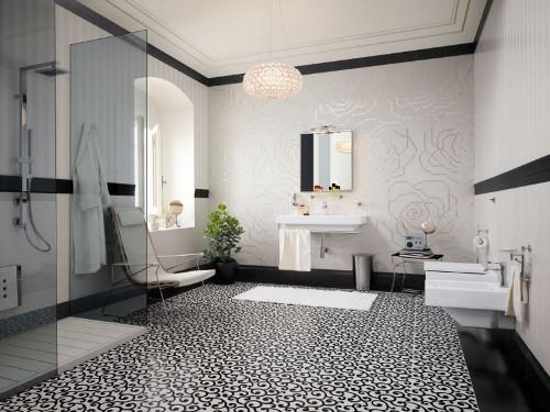 Плитка для пола ванной комнаты. Фото 3