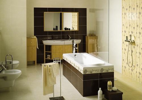 Плитка для пола ванной комнаты. Фото 5