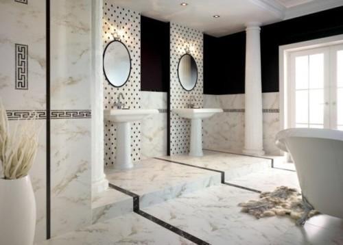Плитка для пола ванной комнаты. Фото 6