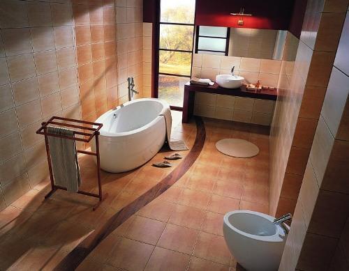 Плитка для пола ванной комнаты. Фото 7