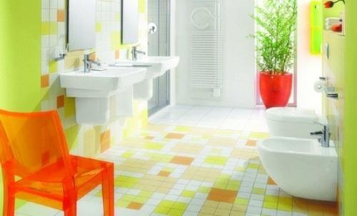 Плитка для пола ванной комнаты. Фото 8
