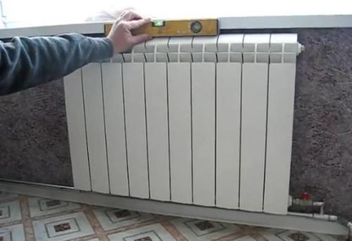 Простые правила установки радиаторов отопления