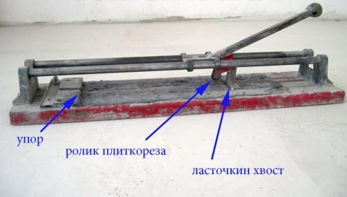 Плиткорез для резки плитки