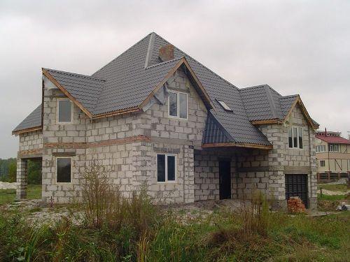 Усадка дома из пеноблоков
