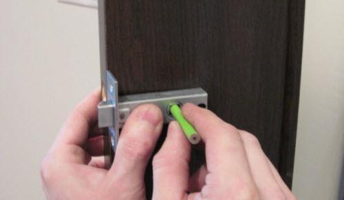 Местоположение дверной ручки