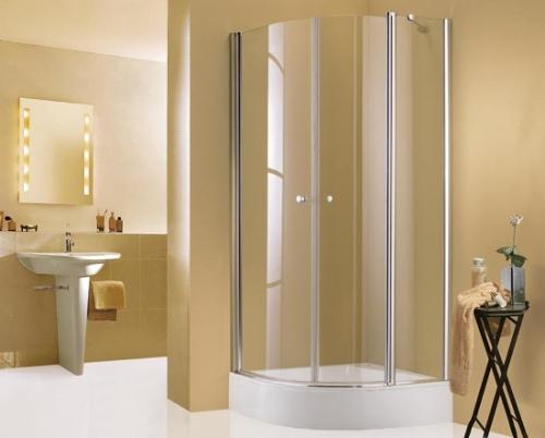 Ванная комната с душевой кабиной: советы дизайнеров